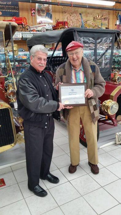 Herb Singe - About the NJ Antique Auto Club