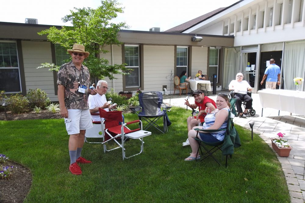 2017 Care One Assisted Living Visit