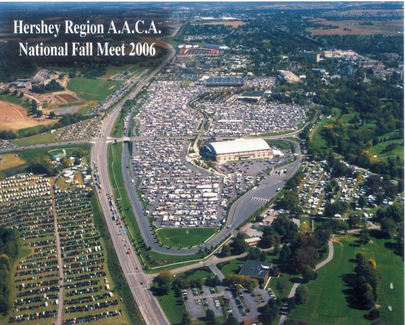 Aerial photo of the 2006 meet