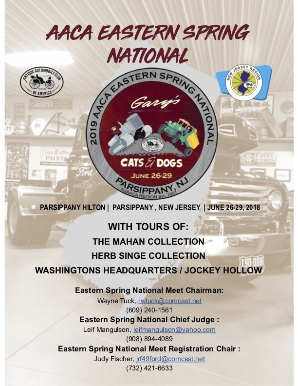 Spring National 2019 Promo Flyer v4 1 - AACA Eastern Spring National
