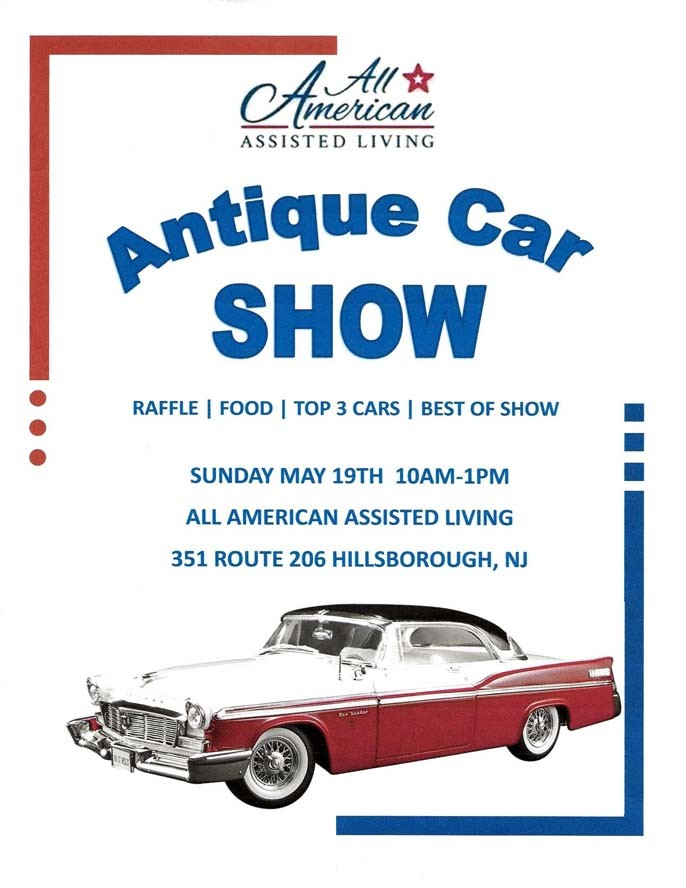 All American Assisted Living Car Show