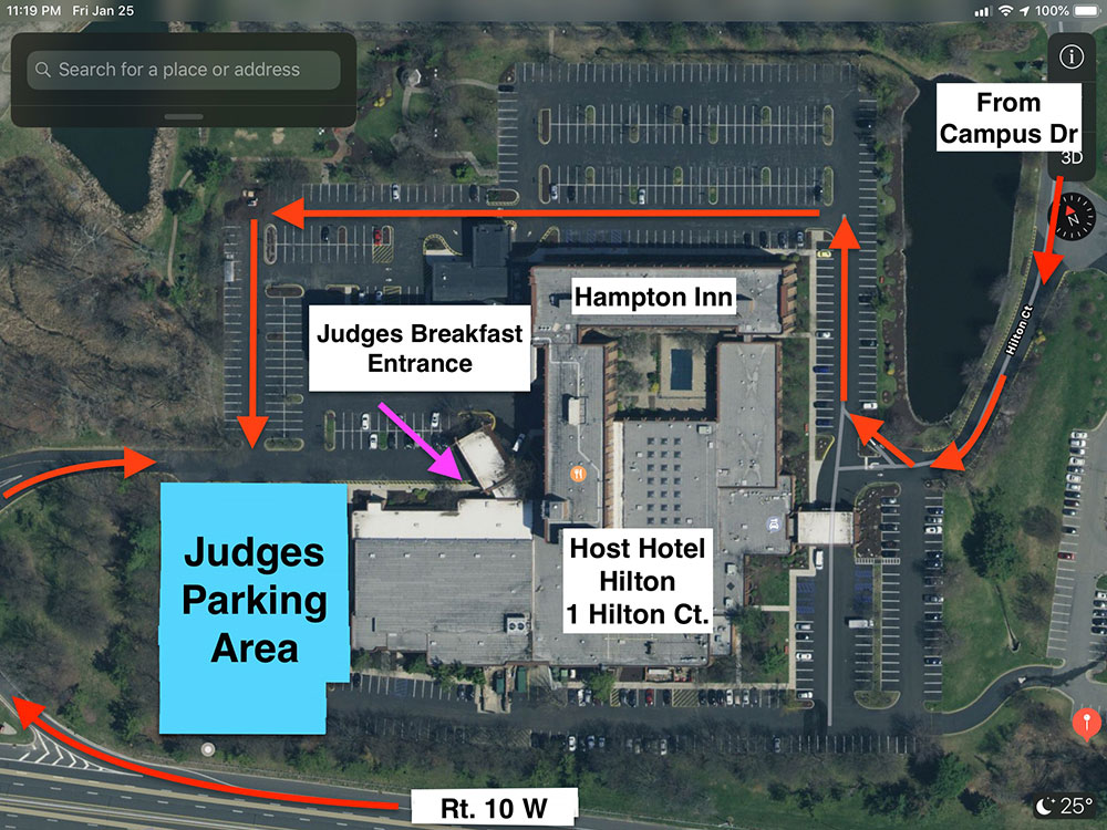 Spring National Section map - AACA Eastern Spring National