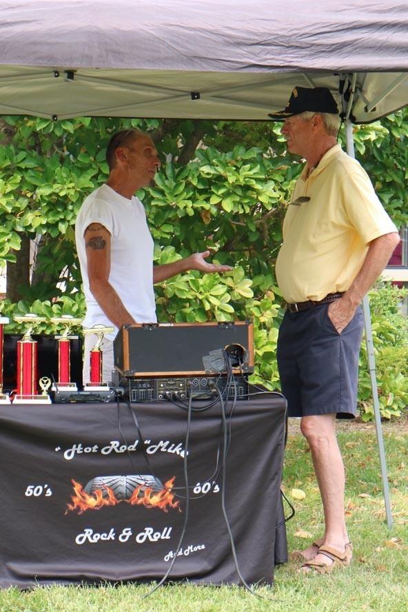Vet Home Menlo Park 19 09 08 040 - NJ Veterans Memorial Home Car Show