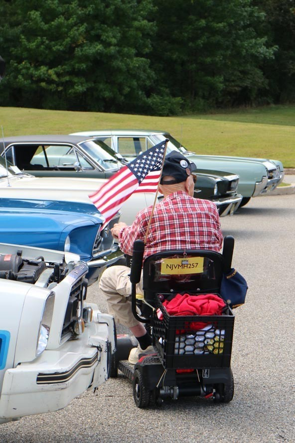Vet Home Menlo Park 19 09 08 054 - NJ Veterans Memorial Home Car Show