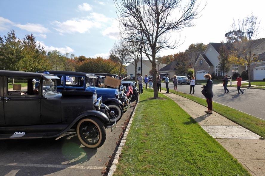 Antique Car Parade at Somerset Run 10/20/2020